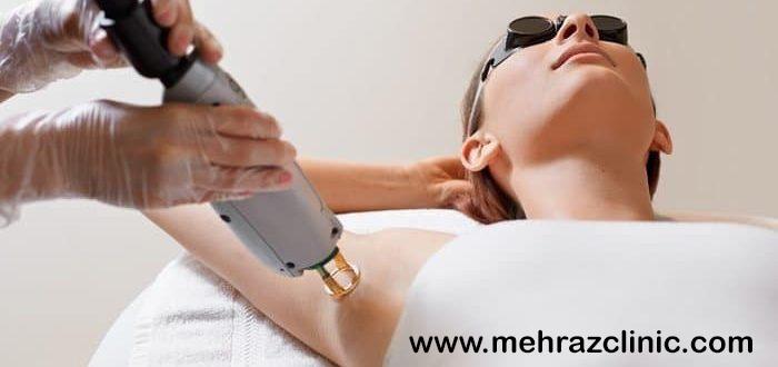 چگونگی کاهش درد لیزر