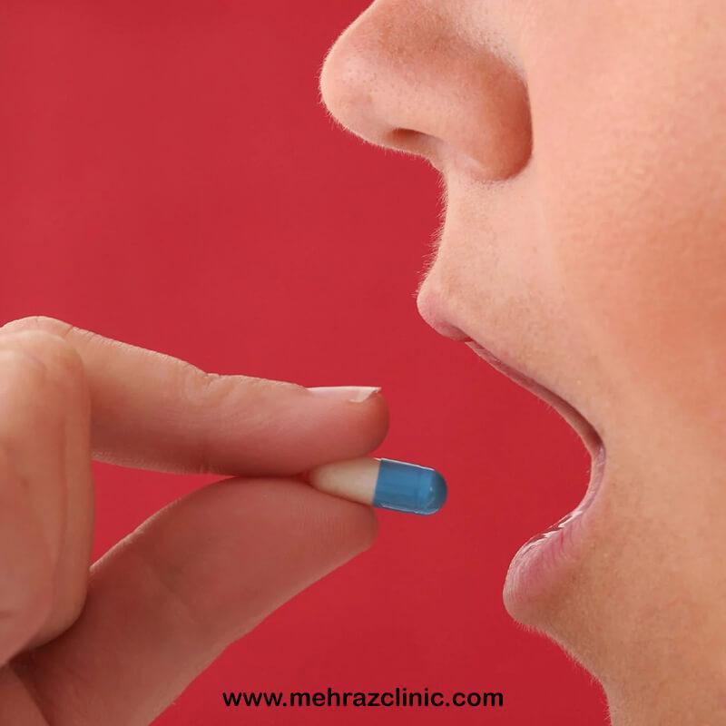 مصرف دارو در هنگام لیزر
