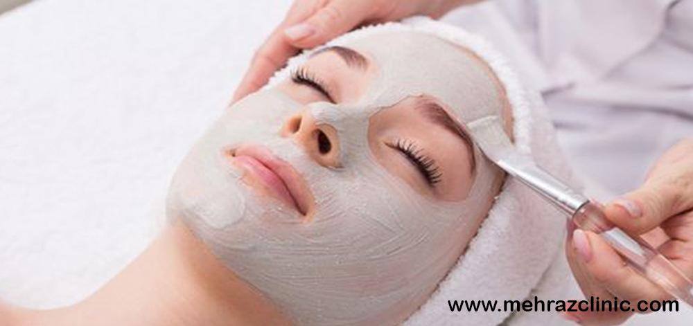 فیشیال صورت و شفافی پوست